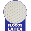 Travesseiro Castor Sleep Flocos de Látex 0,45x0,65 -  Tipo do Estofamento Interno